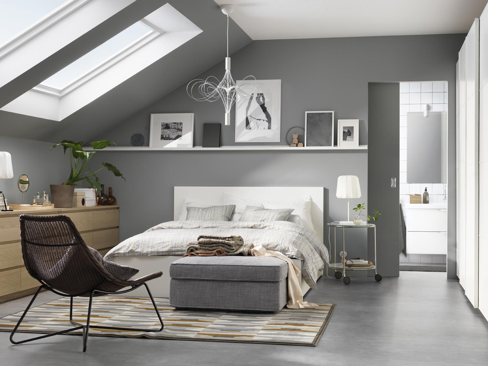 dormitorios luz natural buhardillas