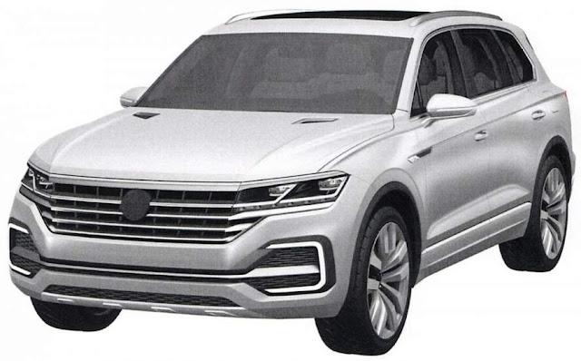 Novo Volkswagen Touareg 2018