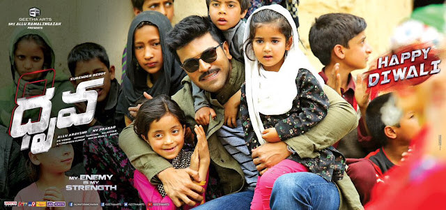 Ram Charan Latest Dhruva Poster on Diwali