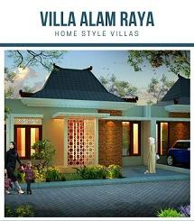 Rumah syariah di serang Villa Alam Raya