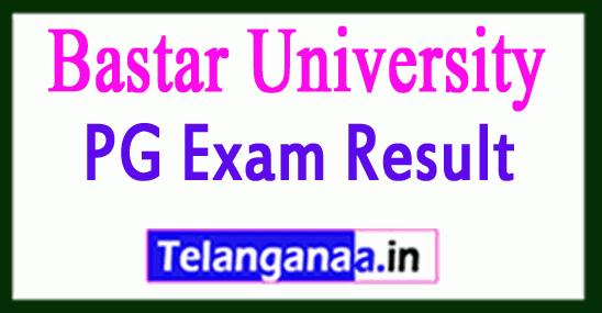 Bastar University Result 2019 BA,B.COM, BSC PG Exam Result