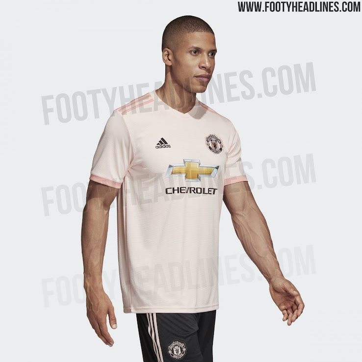 low priced 73081 4ee56 Manchester United 18-19 Away Kit Released - Footy Headlines