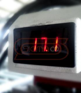 Temperature Display OMNI CNC Router 6060