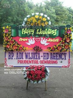 Bunga Papan Wedding