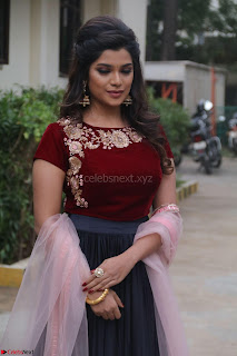 Actress Aathmika in lovely Maraoon Choli ¬  Exclusive Celebrities galleries 013.jpg