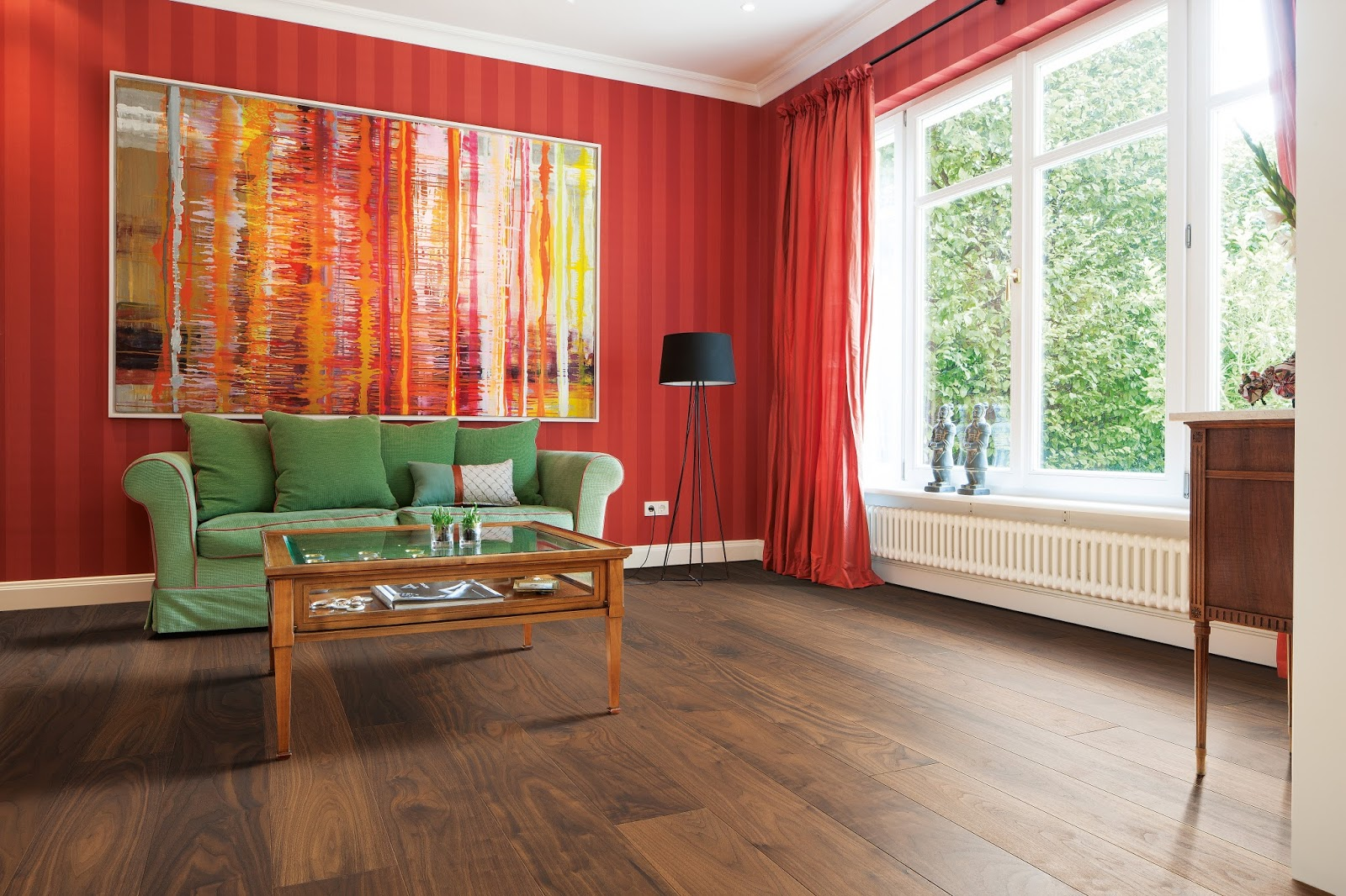 Is the colour of the wood important when you're choosing a floor?