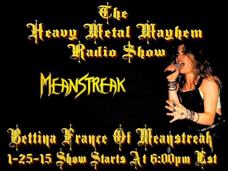 the heavy metal mayhem radio show