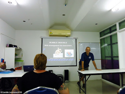 Talk on Decompression Illness at the Phuket hyperbaric chamber