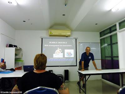 Talk on Decompression Illness at the Phuket hyperbaric chamber