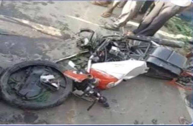 केंद्रीय मंत्री रामकृपाल यादव के काफिले से टक्कर में बाइक सवार युवक की मौत