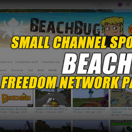 Small Channel Spotlight ★ Beachbug ★ MGN Freedom Network Partner