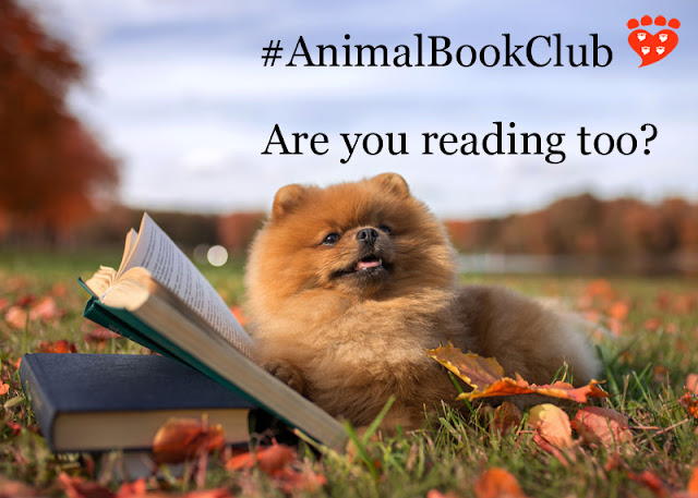 Celebrating two years of the animal book club for people who love animals and love books