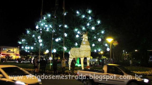 Decoração natalina de Gramado, RS