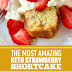 The Most Amazing Keto Strawberry Shortcake #dessert #keto