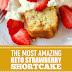 The Most Amazing Keto Strawberry Shortcake #dessert #keto