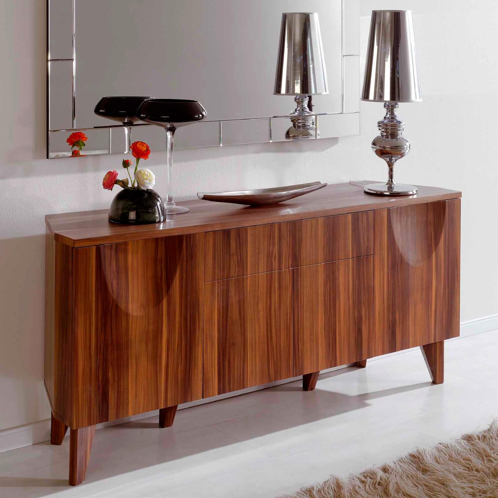 Muebles de comedor aparadores de madera para el comedor for Muebles para comedor