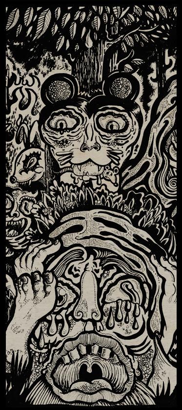 I S A C illustration & design: LA CRIPTA IV: ¡CANIBALISMO