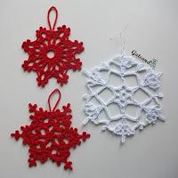 http://gateandocrochet.blogspot.com.es/2015/12/adornos-navidenos-copos-de-nieve.html