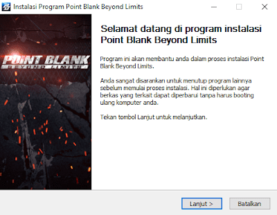 Instalasi Program Point Blank Beyond Limits