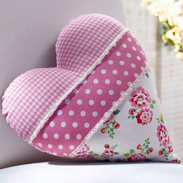 Ideas para decorar cojines con corazones - Cojines de colores para decorar ...