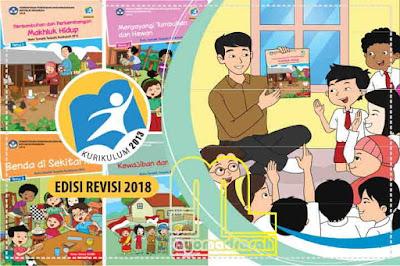 sebagian akan menyelenggarakan kurtilas bagi siswa Download Buku K13 Kelas 3 Semester 1 SD/MI Revisi 2018