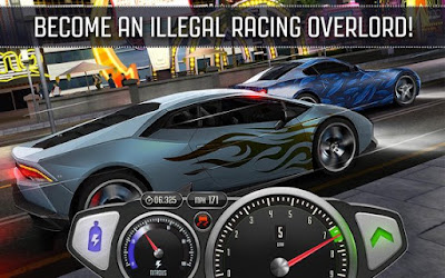 Drag & Fast Street Racing 3D MOD APK v1.15 for Android Original Version Terbaru 2018
