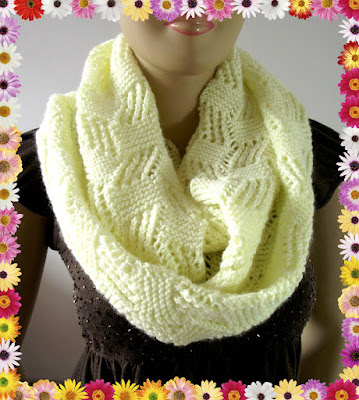 Liliacraftparty Cool Breeze Knitting Scarf Pattern