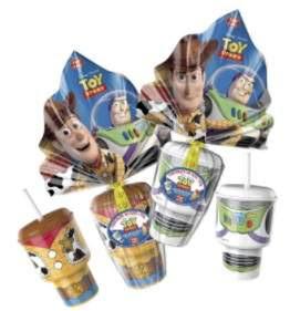 Ovo de Páscoa 2018 Toy Story Top Cau Crianças Cops Personagens Brinde