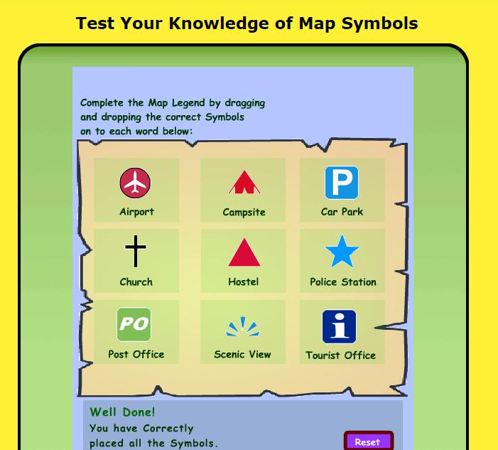 Map Symbol Games