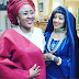 Aww... Check Out This Lovely Photo Of Aisha Buhari And Her Daughter Zahra During Her Henna Ceremony