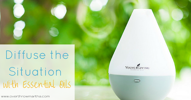 Diffuse essential oils for your emotions