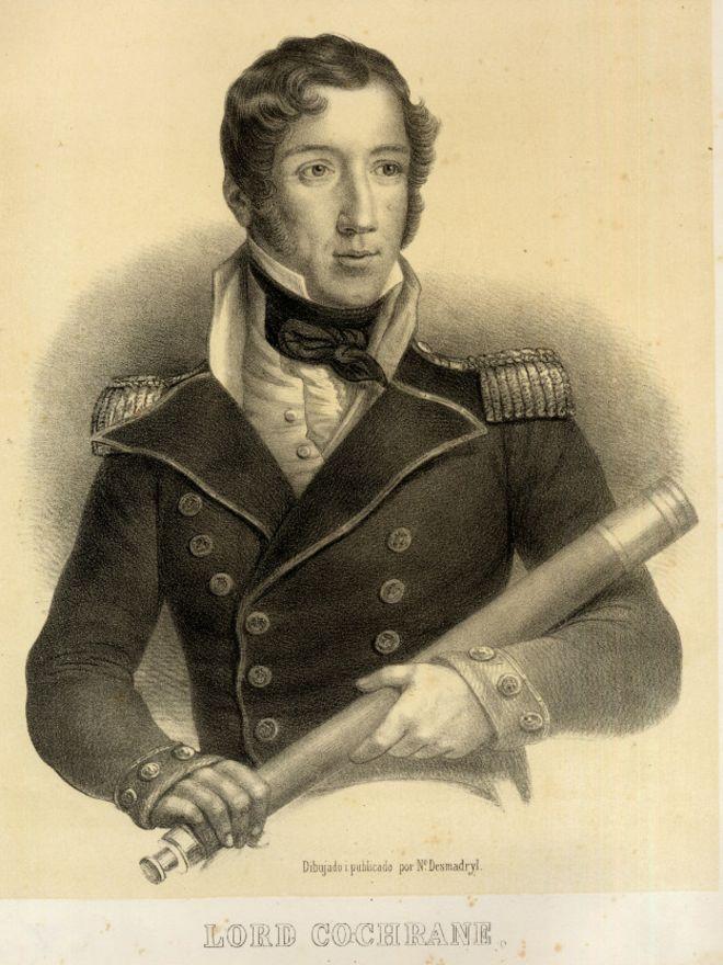 #Chile. Capitán Jack Aubrey, interpretado por Crowe está inspirado en Cochrane.