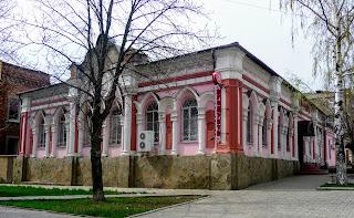 Бахмут. Колишня синагога. Зараз – магазин