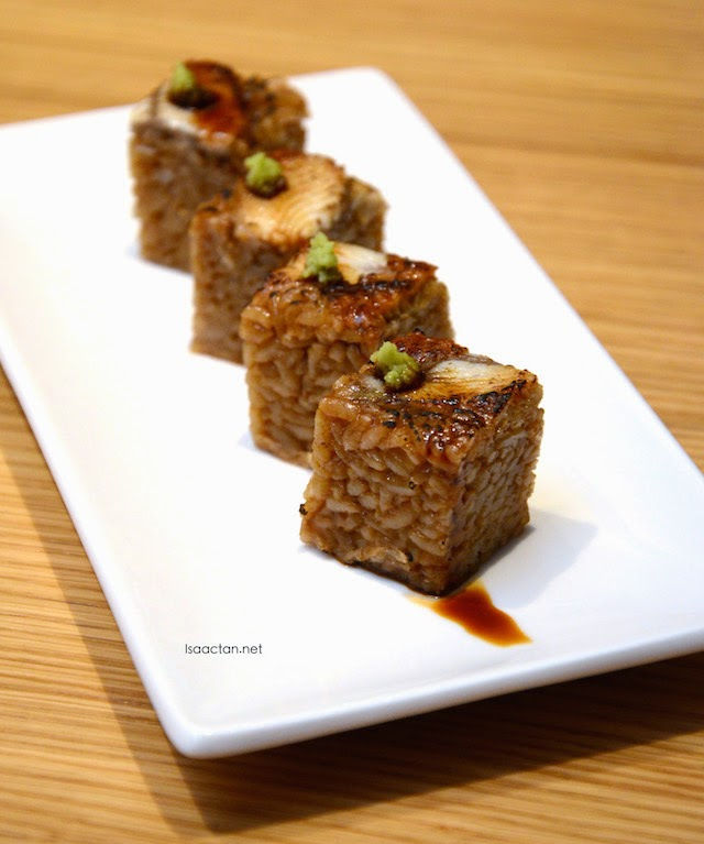 Grilled Eel Roll with Teriyaki Sauce - RM19