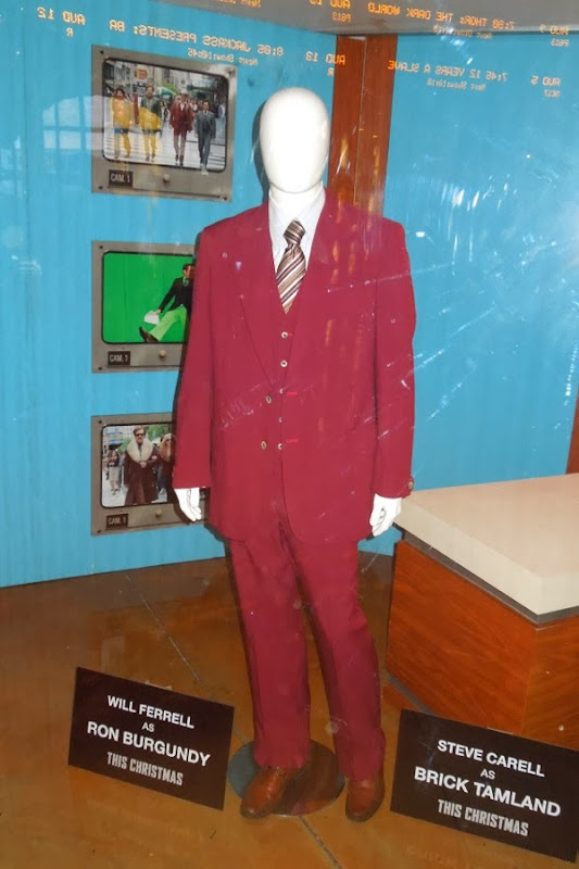 Will Ferrell Ron Burgundy Anchorman 2 movie costume