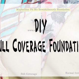 DIY Full Coverage Foundation