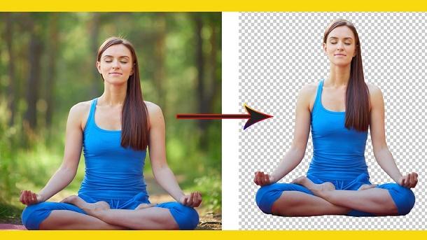 إزالة خلفية الصور أو تغييرها بدون برامج أو تطبيقات بطريقة سهلة