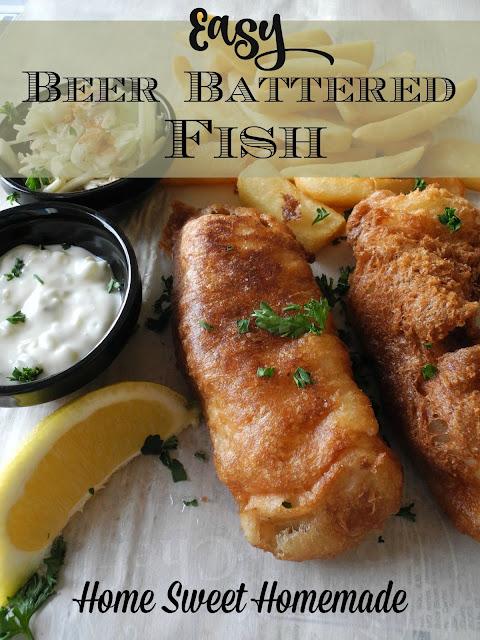 Easy Beer Battered Fish