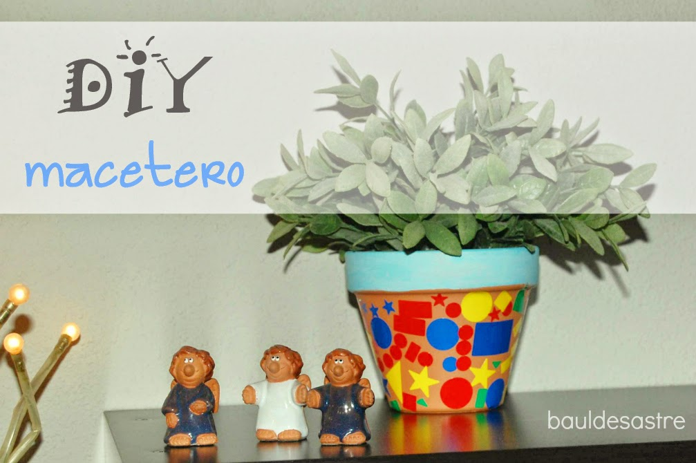 diy maceta de barro