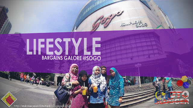 Lifestyle Bargains Galore @SOGO