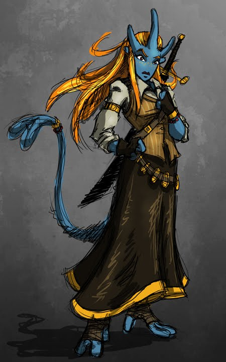The Blog Of Mark Harmon Illustration Sci Fi Fantasy Warrior