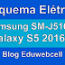 Esquema Elétrico Samsung Galaxy J5 2016 SM-J510FN - Manual de Serviço