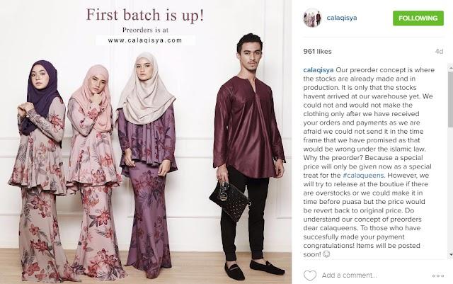 Fesyen Baju Raya 2016