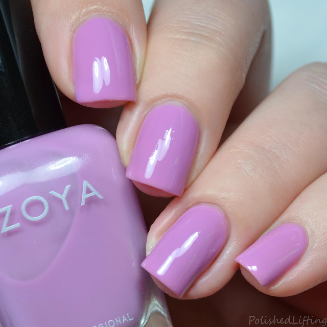 lavender crelly nail polish