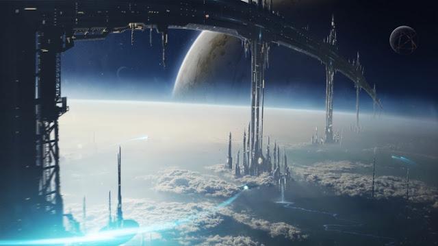 civilização alienígena avançada