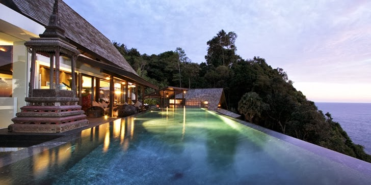 Swimming pool in Amazing contemporary Villa Yin in Phuket