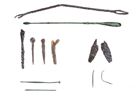 2,600-year-old Asklepeion, medical tools discovered in ancient city of Apolloniatis
