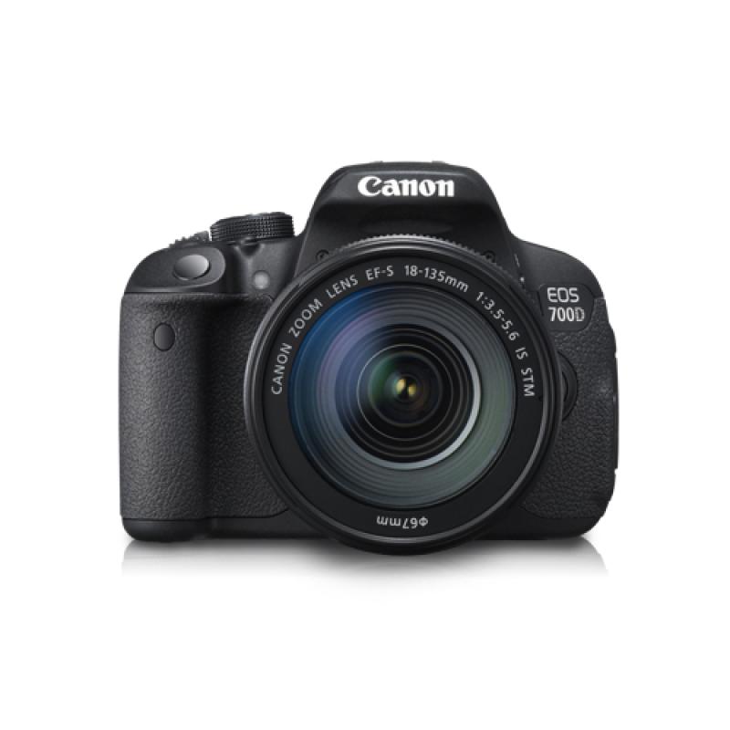 Canon 700D Kit EF 18-135mm STM Kamera DSLR