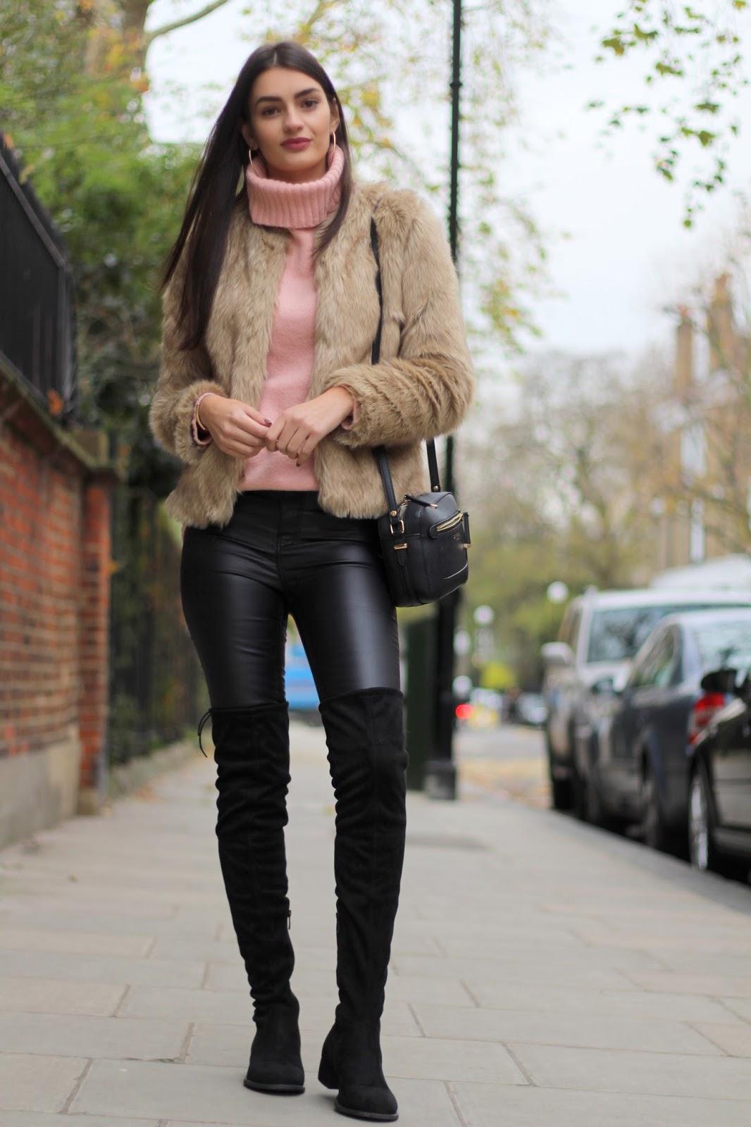 peexo winter style blogger