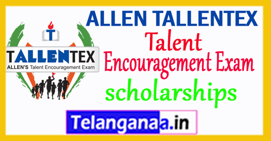 ALLEN TALLENTEX 2018 Talent Encouragement Exam